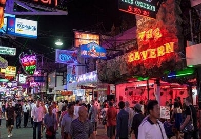 walking-street-pattaya, nightlife in pattaya, Pattaya Nightlife